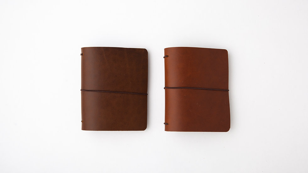 PASSPORT LEATHER TRAVELERS NOTEBOOK COVER