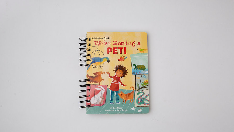 We're Getting a Pet! - LGB NOTEBOOK (LINED)