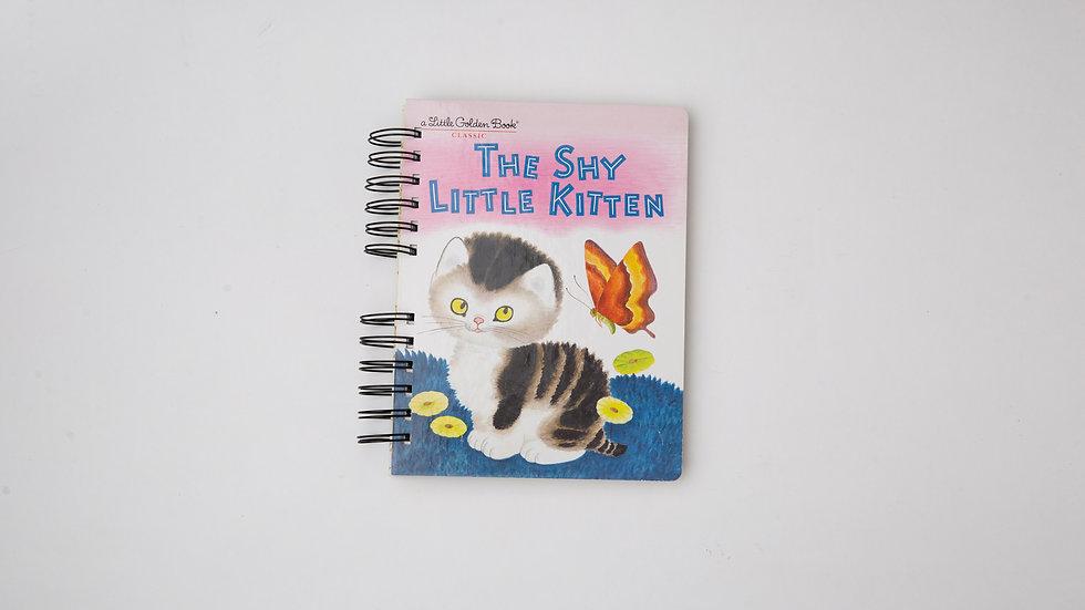The Shy Little Kitten - LGB NOTEBOOK (LINED)