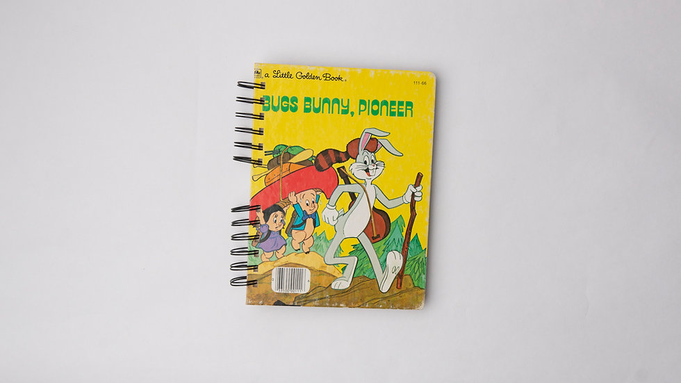 Bugs Bunny, Pioneer - LGB NOTEBOOK (LINED)