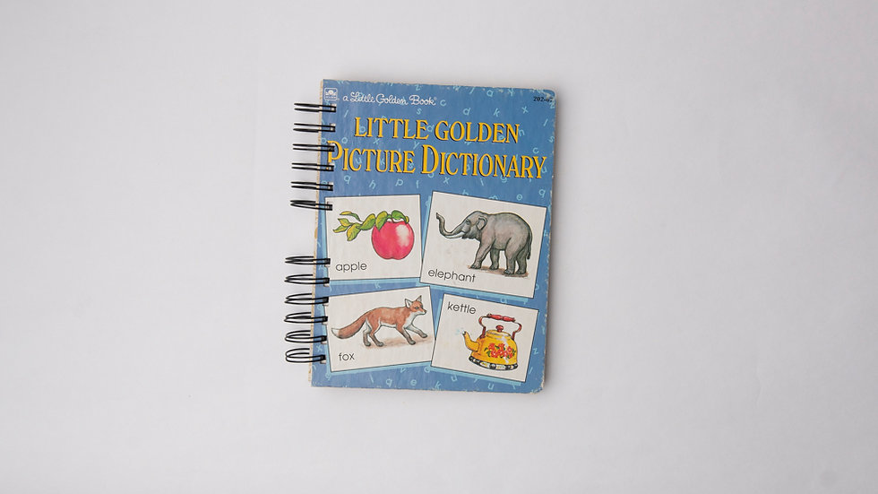 Little Golden Picture Dictionary - LGB NOTEBOOK (LINED)