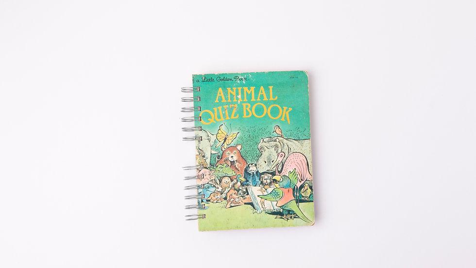 ANIMAL QUIZ BOOK - LGB NOTEBOOK