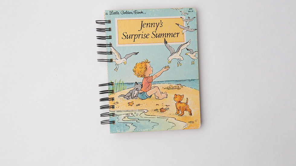 Jenny's Surprise Summer - LGB NOTEBOOK (LINED)