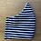 Thumbnail: Cotton Mask (black and white stripes)