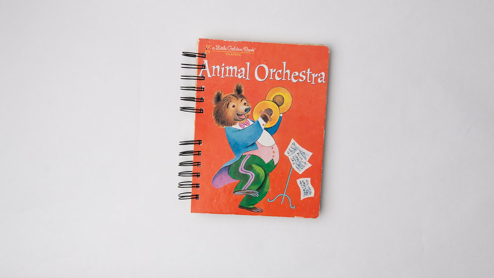 Animal Orchestra - LGB NOTEBOOK (LINED)