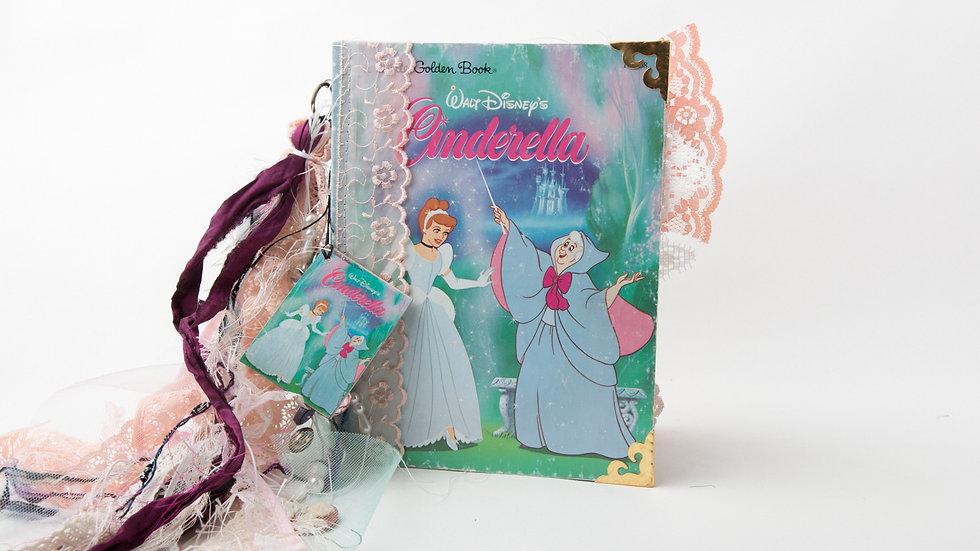 Cinderella Little Golden Book Junk Journal {LARGE}
