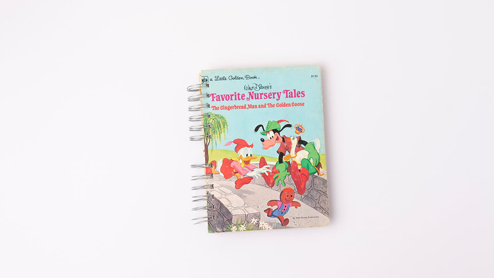 FAVOURITE NURSERY TALES THE GINGERBREAD MAN AND THE GOLDEN GOOSE  - LGB NOTEBOOK