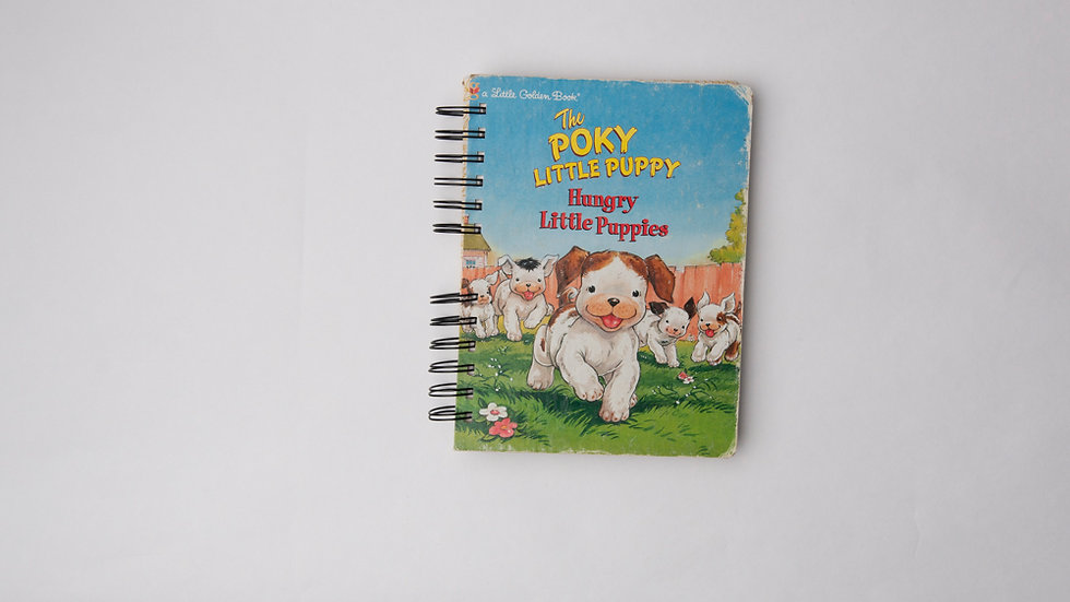 The Poky Little Puppy Hungry Little Puppies - LGB NOTEBOOK (LINED)