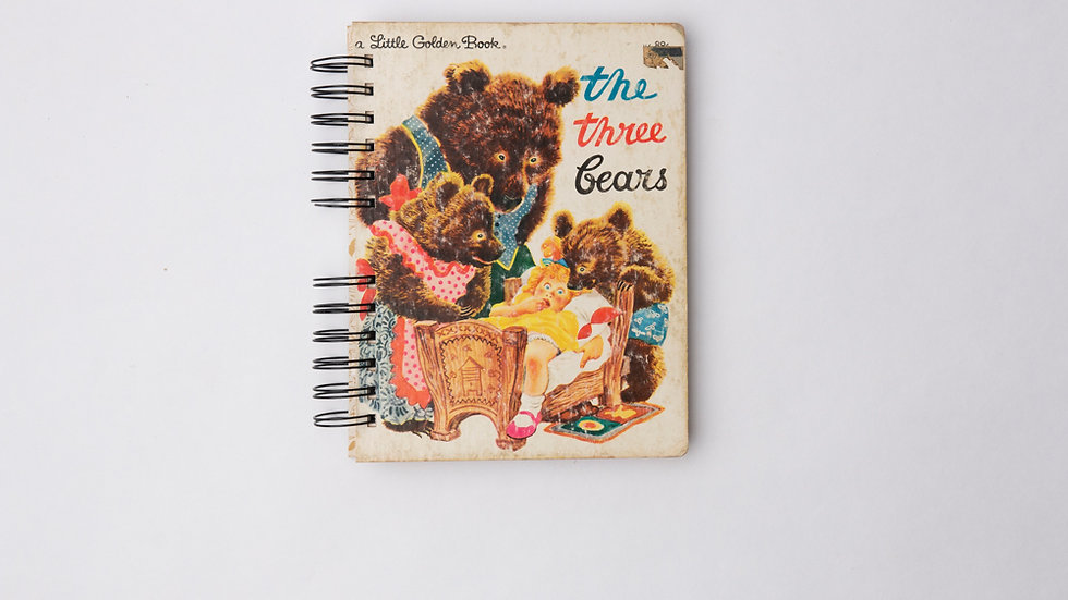 The Three Bears - LGB NOTEBOOK (LINED)