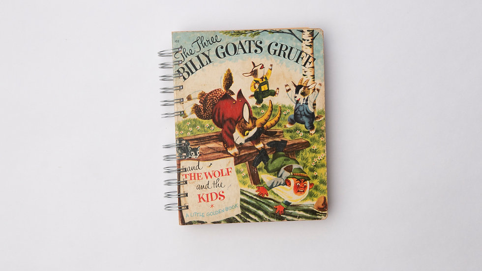 The Three Billy Goats Gruff - LGB Notebook Blank