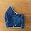 Thumbnail: Cotton Mask (blue glitter galaxy)
