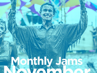 MONTHLY JAMS - NOVEMBER 2017