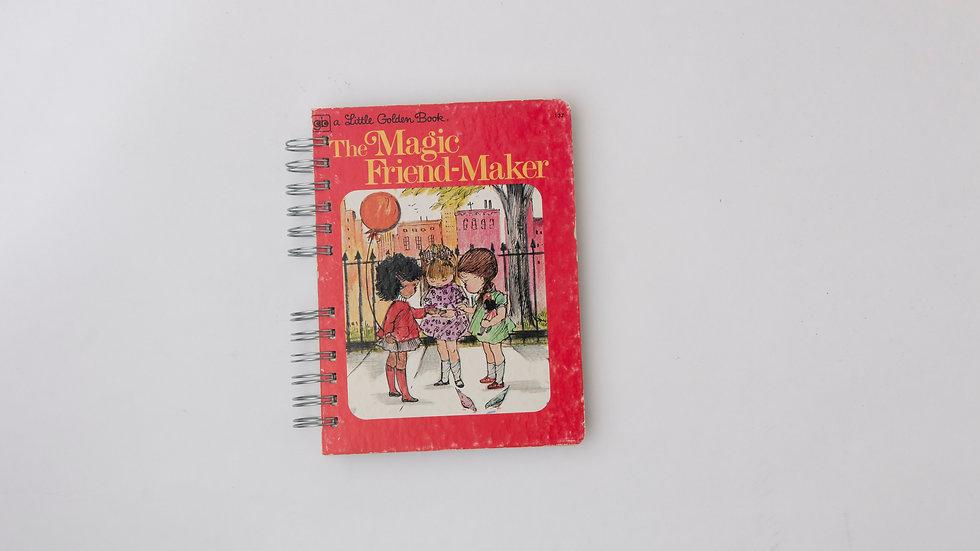 The Magic Friend-Maker - LGB Notebook Blank