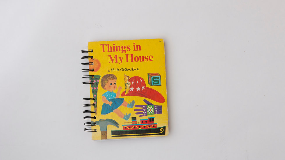 Things in My House - LGB NOTEBOOK (LINED)
