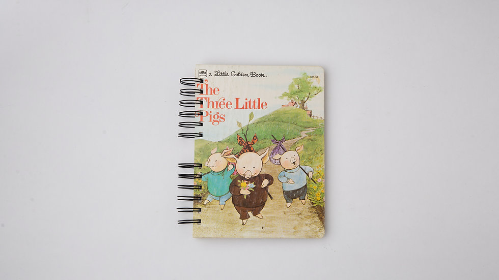 The Three Little Pigs - LGB NOTEBOOK (LINED)