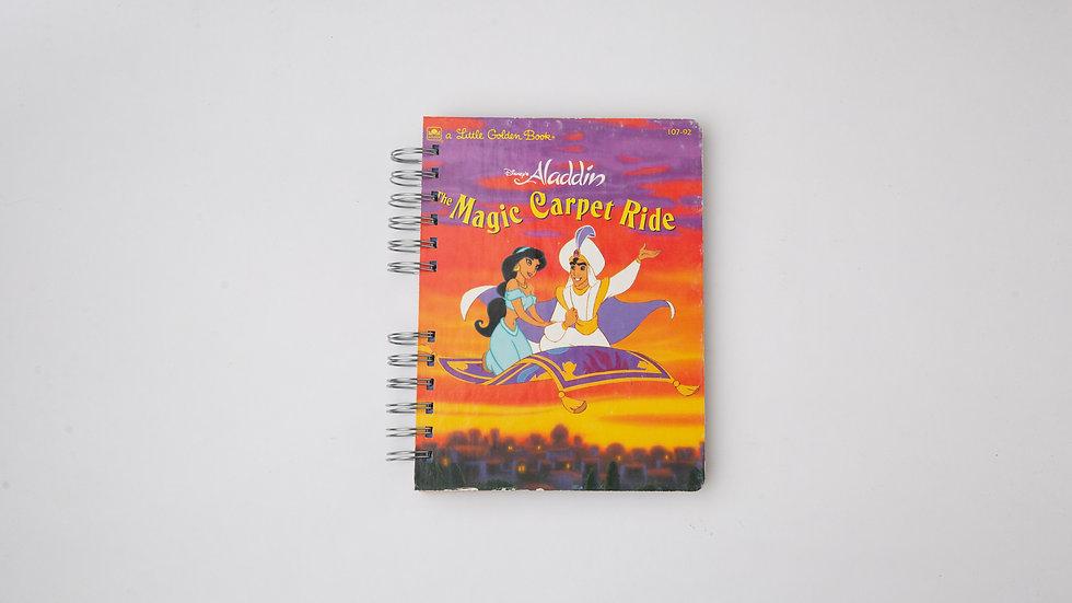 Aladdin The Magic Carpet Ride - LGB Notebook Blank