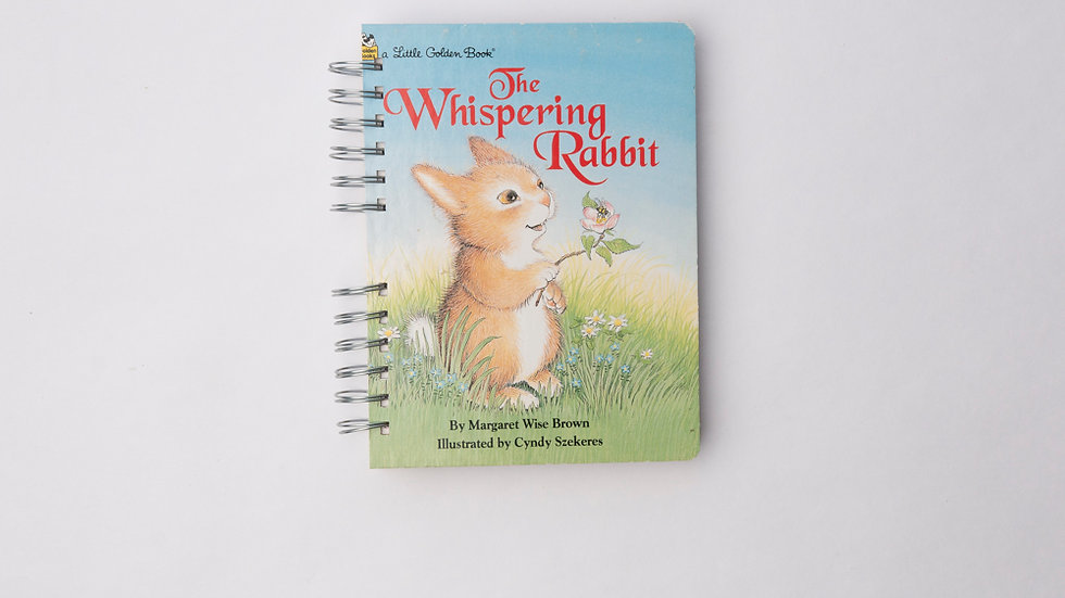 The Whispering Rabbit  - LGB Notebook Blank
