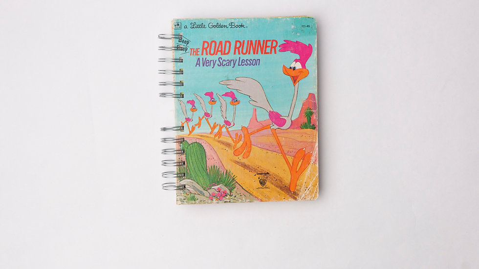 The Road Runner A Very Scary Lesson - LGB Notebook Blank