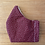 Thumbnail: Cotton Mask (burgundy flowers)
