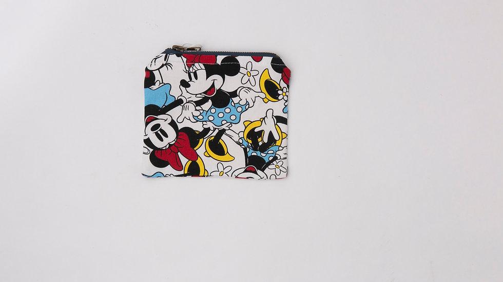 Fabric Pouch - Minnie (S)