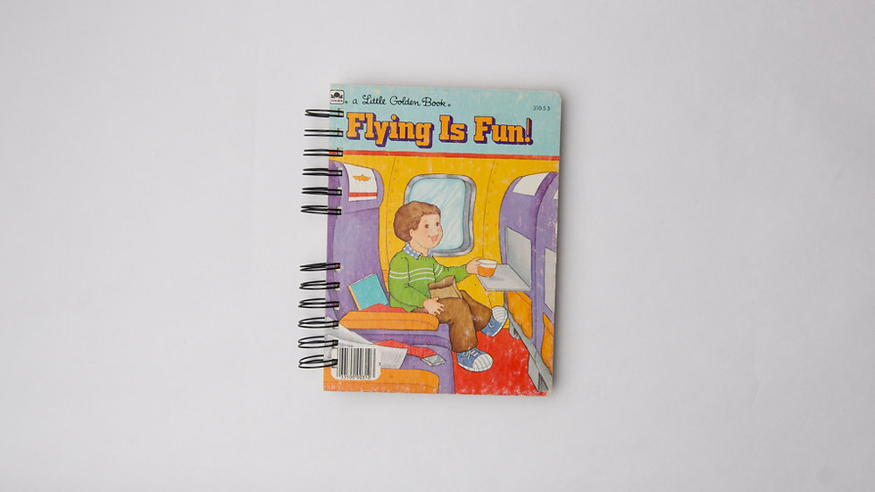 Flying Is Fun - LGB NOTEBOOK (LINED)
