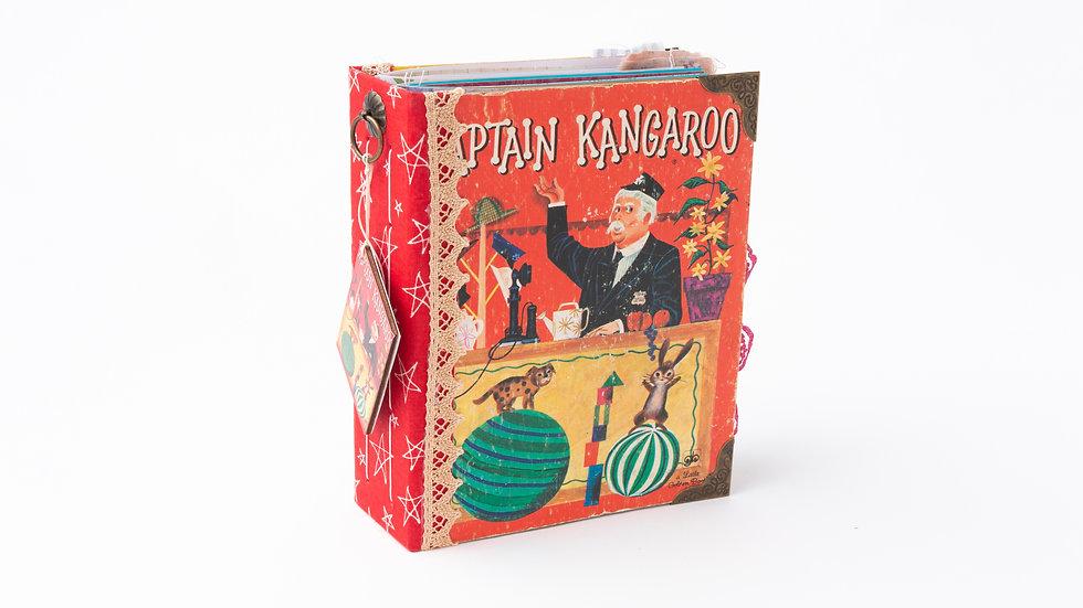 Captain Kangaroo -  Little Golden Book Junk Journal {