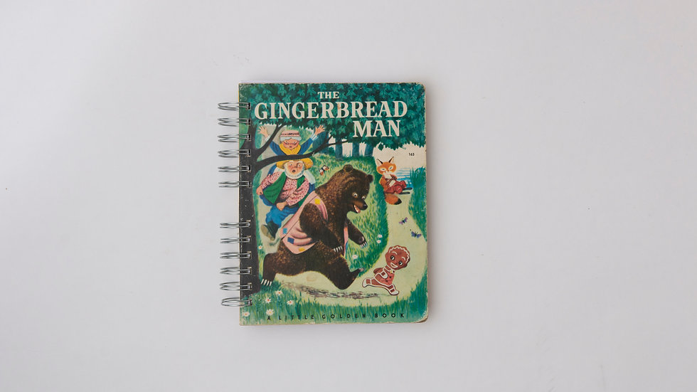 The Gingerbread Man - LGB Notebook Blank