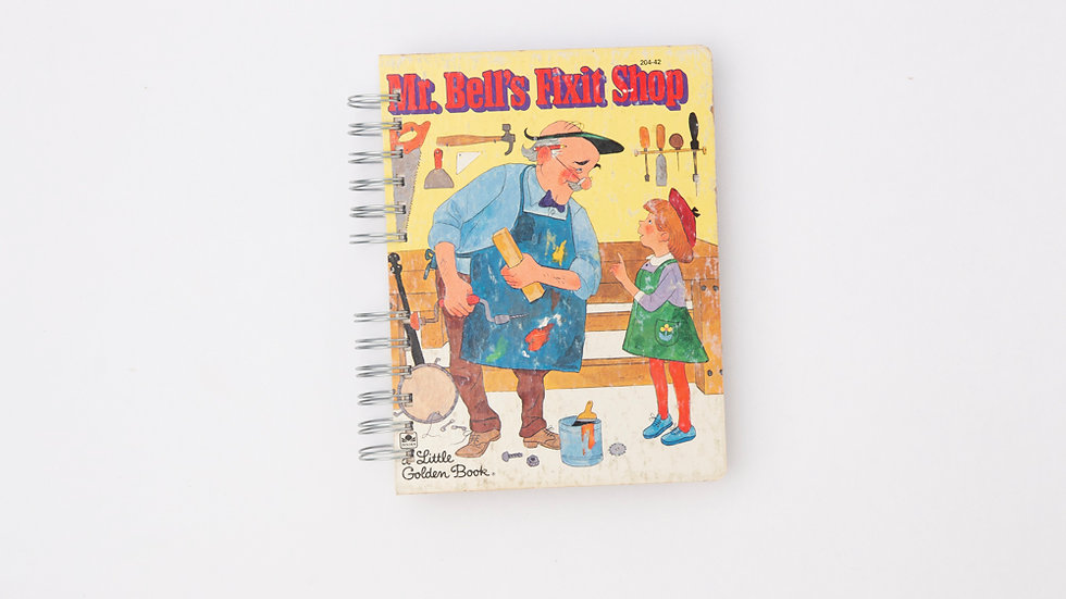 Mr Bell's Fixit Shop - LGB Notebook Blank