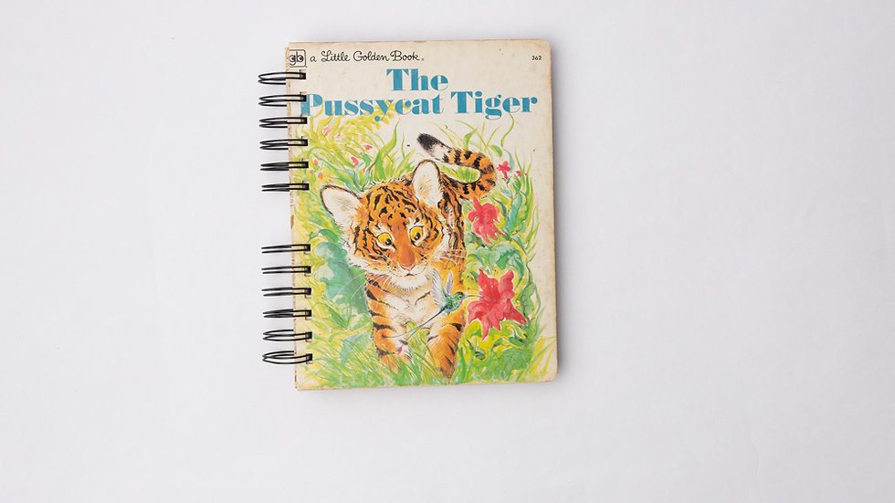 The Pussycat Tiger - LGB NOTEBOOK (LINED)