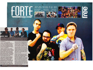 FORTE MAGAZINE #494 - RED INK