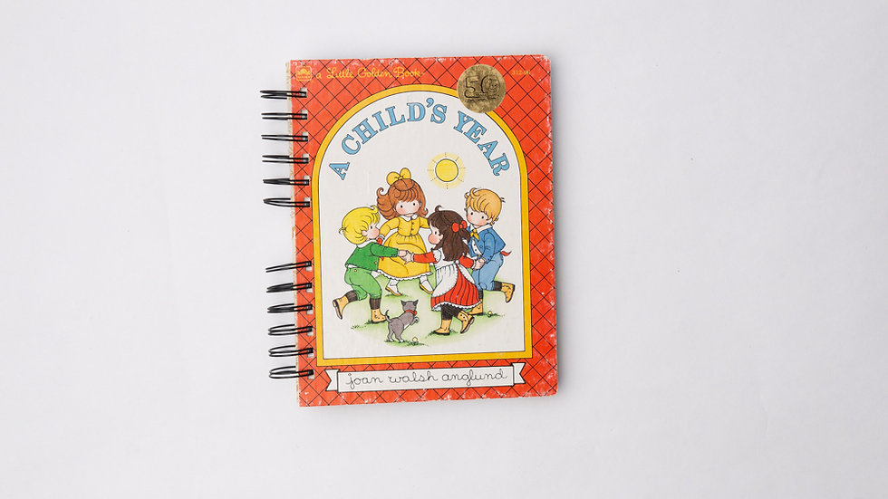 A Child's Year - LGB NOTEBOOK (LINED)