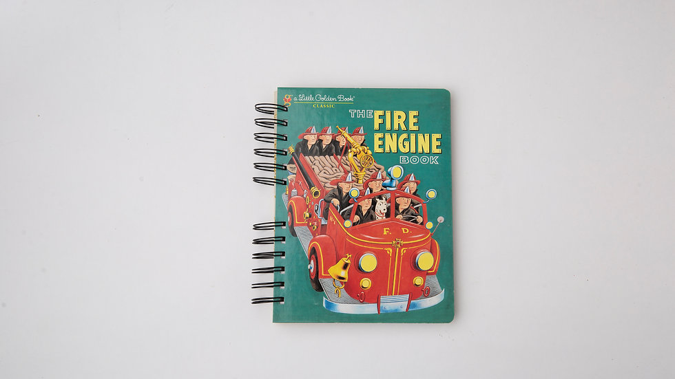 The Fire Engine Book - LGB NOTEBOOK (LINED)