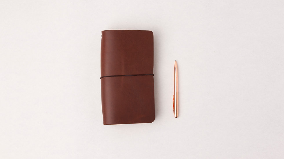 STANDARD LEATHER TRAVELERS NOTEBOOK COVER