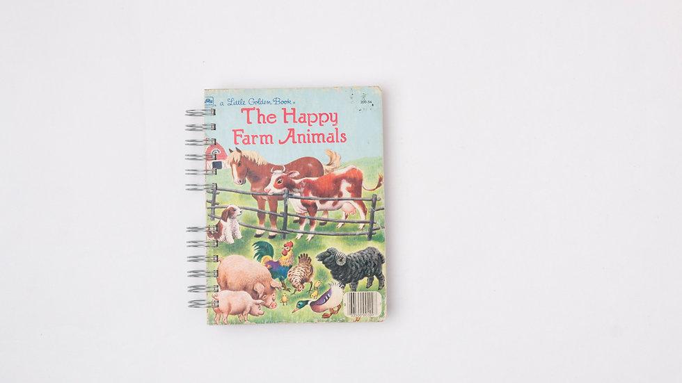 THE HAPPY FARM ANIMALS - LGB NOTEBOOK