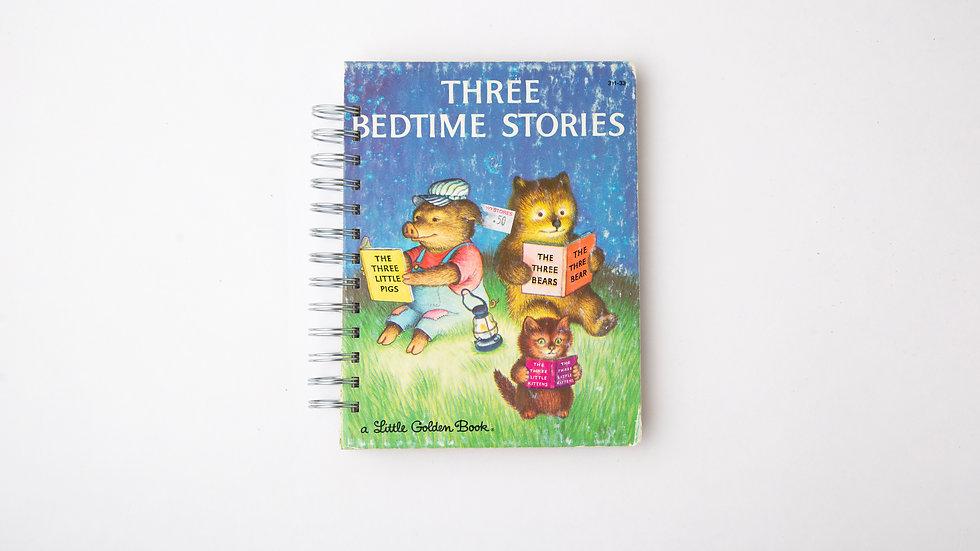 Three Bedtime Stories - LGB Notebook Blank