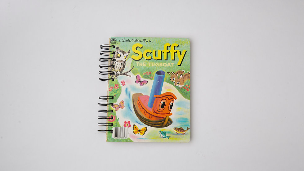 Scuffy the Tugboat - LGB NOTEBOOK (LINED)