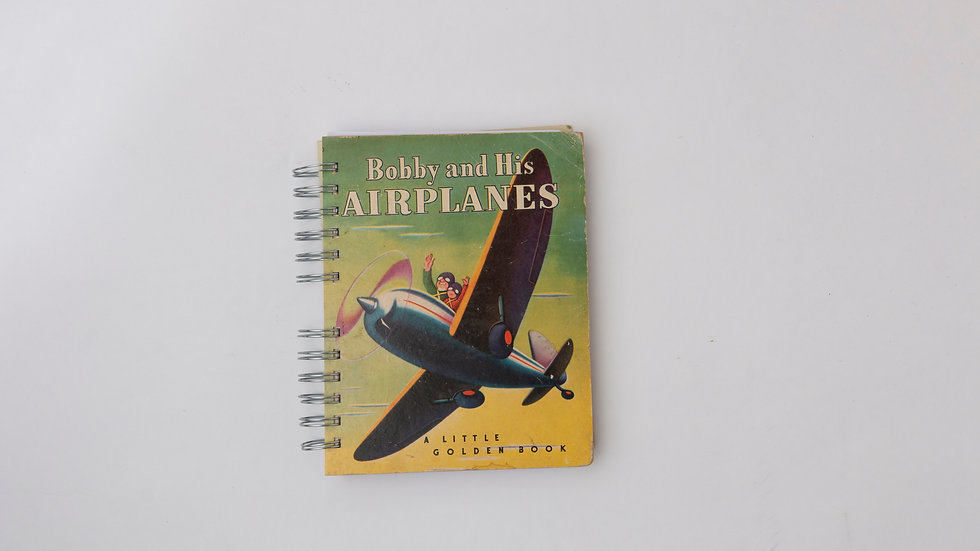 Bobby and His Airplanes - LGB Notebook Blank