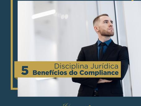 5 benefícios do Compliance