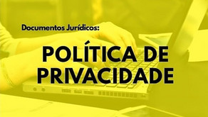 O que significa Política de Privacidade?