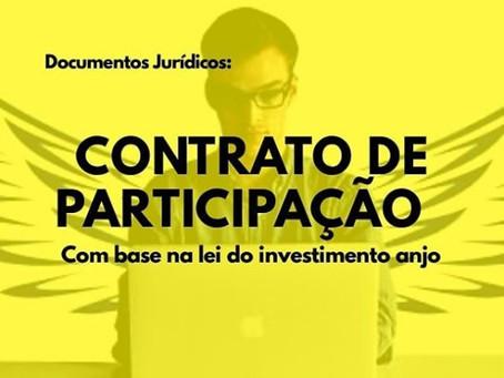 Saiba quando utilizar o contrato de participação - Investimento anjo