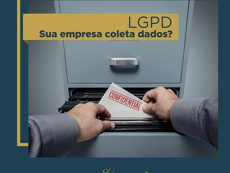 LGPD - Sua empresa coleta dados?