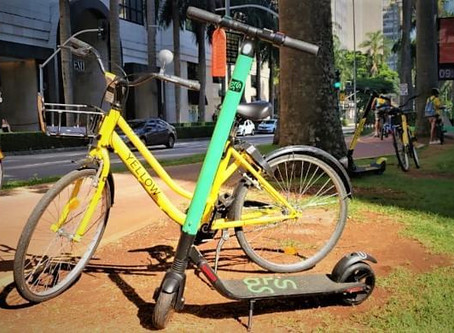 Startups de mobilidade Yellow e Grin se unem e criam holding: a GROW