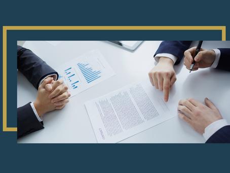 Qual a importância de firmar um contrato?