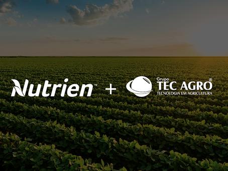 Nutrien adquire distribuidora brasileira Tec Agro