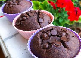 Chocolate Oatmeal Cupcake