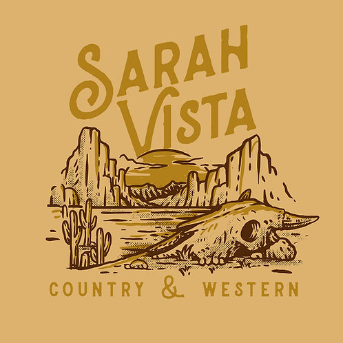 """Sarah Vista """"Country & Western"""" T-shirt"""