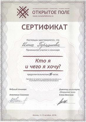Кто я и чего хочу Инесса Боровская