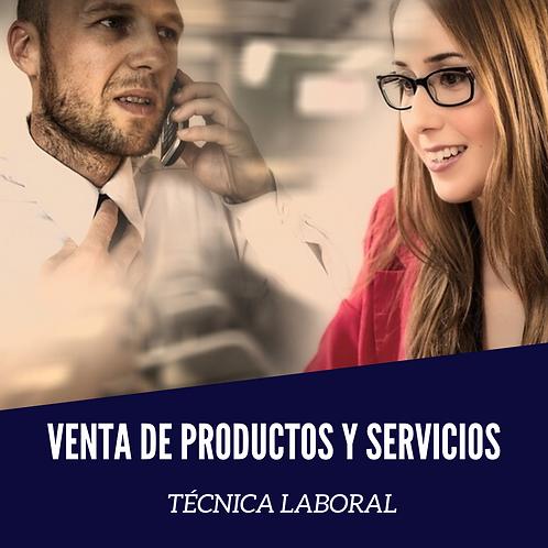 Técnica Laboral en Venta de Productos y Servicios. Valor: $720.000 x Semestre.