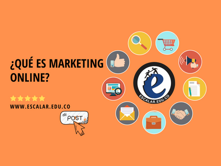 ¿Qué es marketing online?.