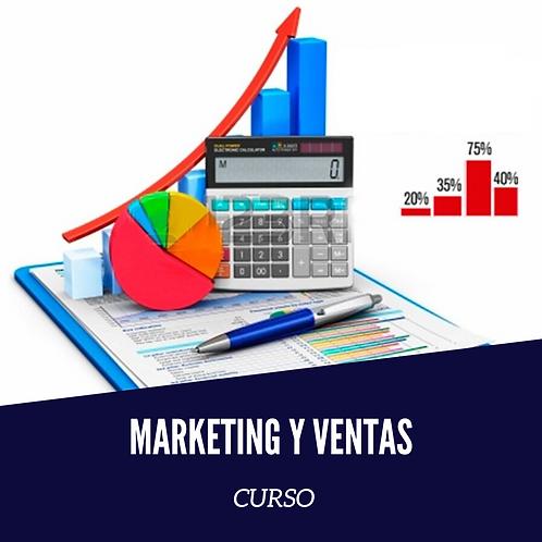 Curso Marketing y Ventas.